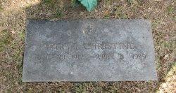 Mary Evelyn <i>Kilgore</i> Christine