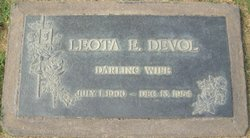 Leota Emma <i>Thompson</i> DeVol