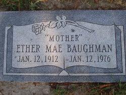 Ether Mae Baughman