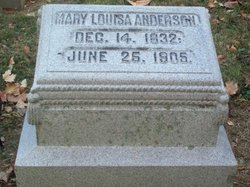 Mary Louisa Anderson