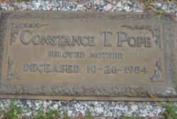 Constance <i>Thompson</i> Pope