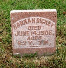 Hannah <i>Manlove</i> Dickey