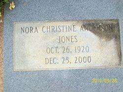 Nora Christine <i>Anderson</i> Jones