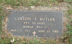 Pvt Carson F. Butler