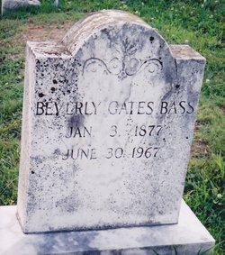 Beverly Gates Bass