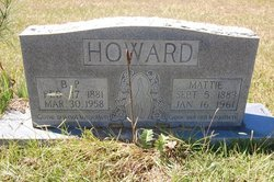 Mattie <i>Isbell</i> Howard