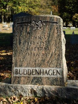 Albertina Tina <i>Bernstein</i> Buddenhagen