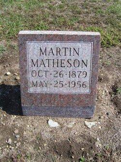 Martin Matheson