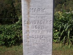 Mary <i>Trivette</i> Adams