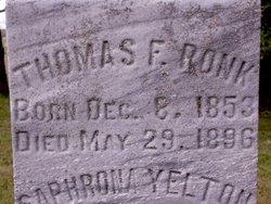 Thomas F. Ronk