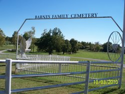 Barnes Family Cemetery