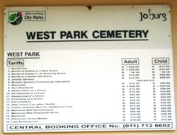 Westpark Cemetery
