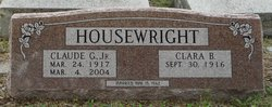 Claude G Housewright, Jr