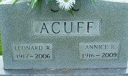 Annice R. Acuff