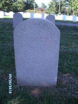 Pvt William C Ames