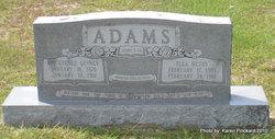 Ella <i>Busby</i> Adams