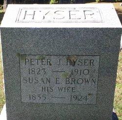 Susan E <i>Brown</i> Hyser