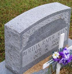 Bertha Raper Allen