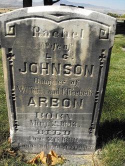 Rachel <i>Arbon</i> Johnson