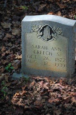Sarah Ann Sary <i>Creech-Blanton</i> Shackleford