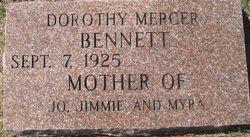 Dorothy <i>Mercer</i> Bennett