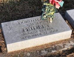 Dorothy J <i>Fridley</i> Balser