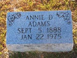 Annie D. Adams