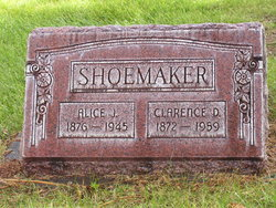 Clarence D Shoemaker