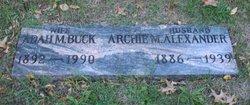 Archie M Alexander