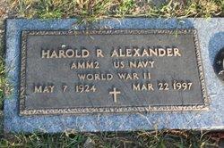Harold R Alexander