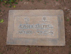 Alpha Estella <i>Farnsworth</i> Sherrill