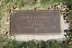 David Ernest Patterson