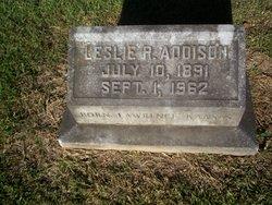 Leslie R. Addison