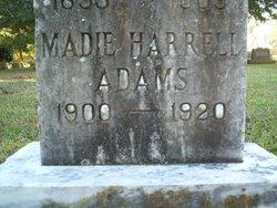 Madie Harrell Adams