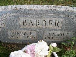 Minnie Rebecca <i>Doolittle</i> Barber