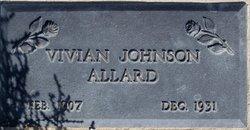 Vivian Lee <i>Johnson</i> Allard