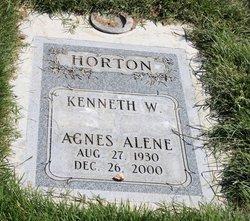 Agnes Alene <i>Townsley</i> Horton