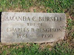 Amanda C <i>Bursell</i> Bengtson