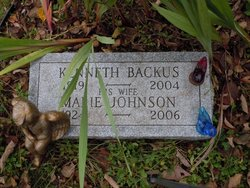 Marie Estelle <i>Johnson</i> Backus