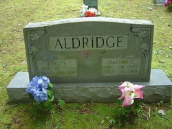 Lillie Mariah <i>Crisp</i> Aldridge