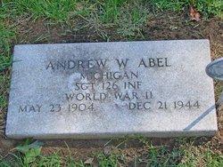 Sgt Andrew William Abel