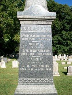 Sallie M Worthington