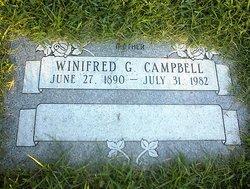 Winifred Gwendolyn Winnie <i>Sterner</i> Campbell