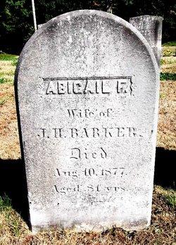 Abigail <i>Foster</i> Barker