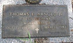 Thomas E Arnold, Jr