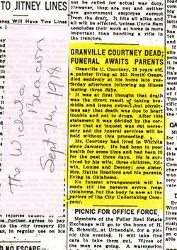 Granville Calvin Courtney