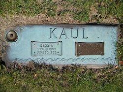 Bessie <i>Schwister</i> Kaul
