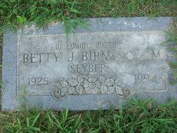Betty J. <i>Seyber</i> Birmingham