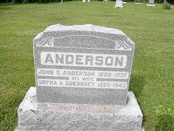 Orpha Amanda <i>Guernsey</i> Anderson