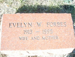 Evelyn W. Forbes